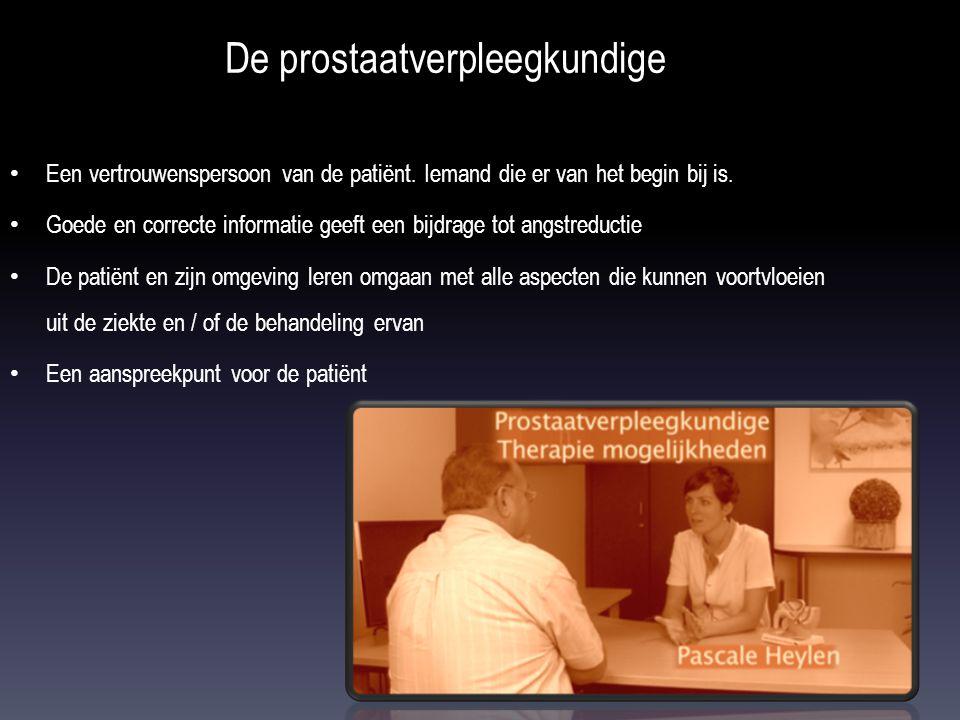 De prostaatverpleegkundige