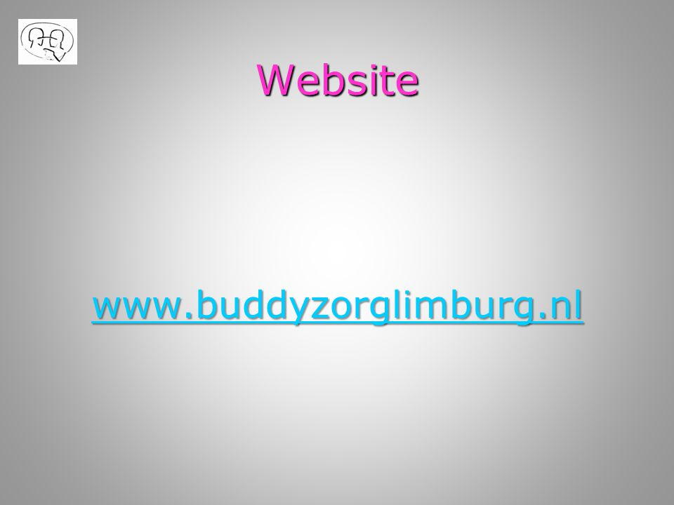 Website www.buddyzorglimburg.nl