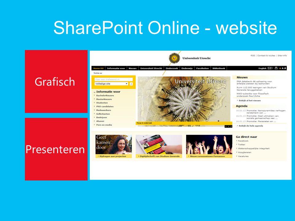 SharePoint Online - website