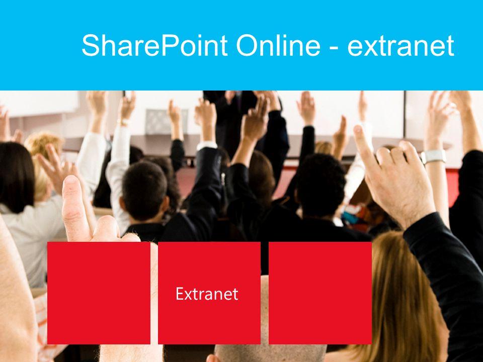 SharePoint Online - extranet
