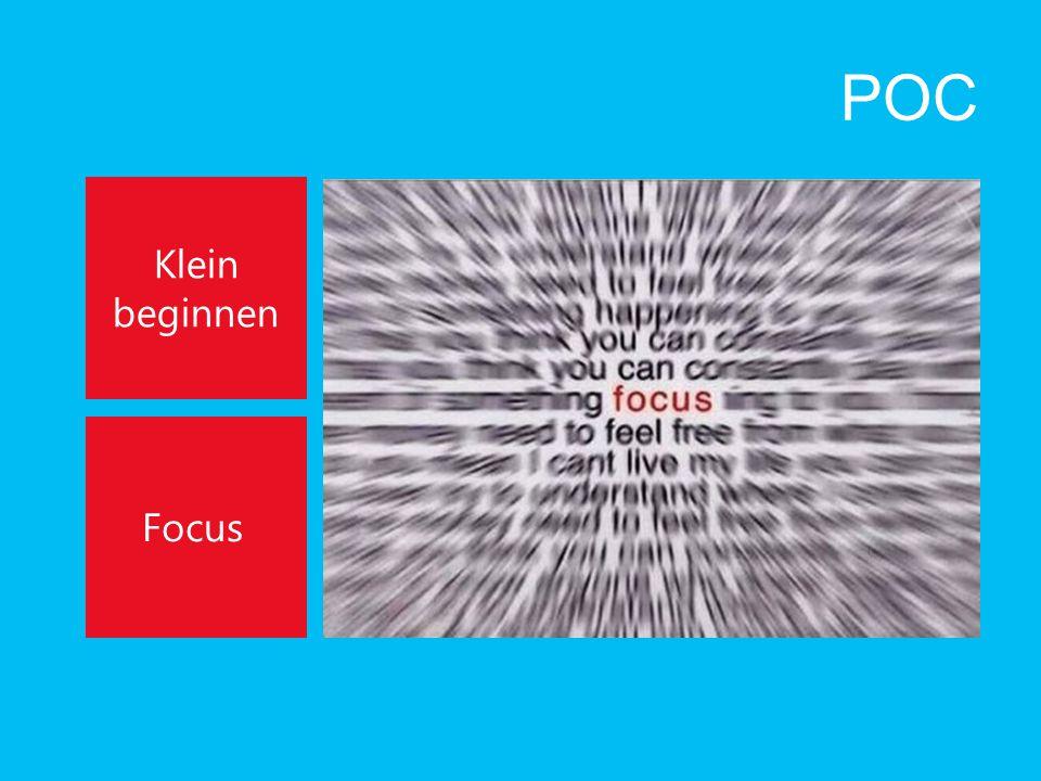 POC Klein beginnen Focus
