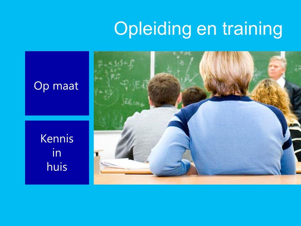 Opleiding en training Op maat Kennis in huis