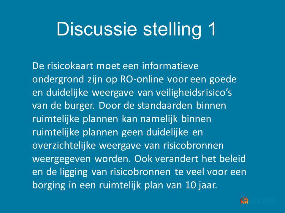 Discussie stelling 1