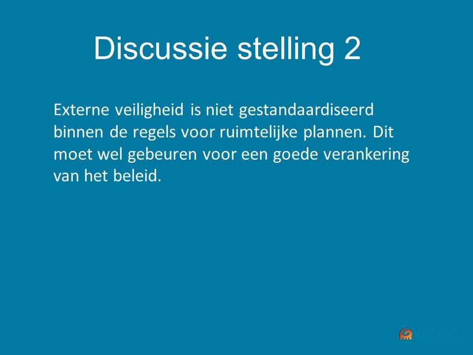 Discussie stelling 2