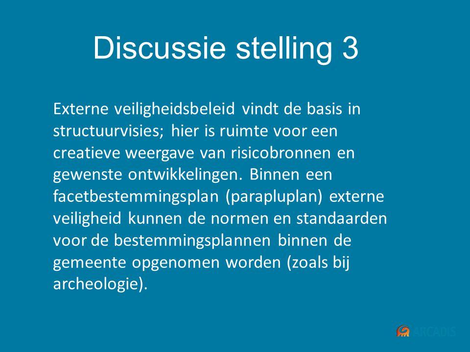 Discussie stelling 3