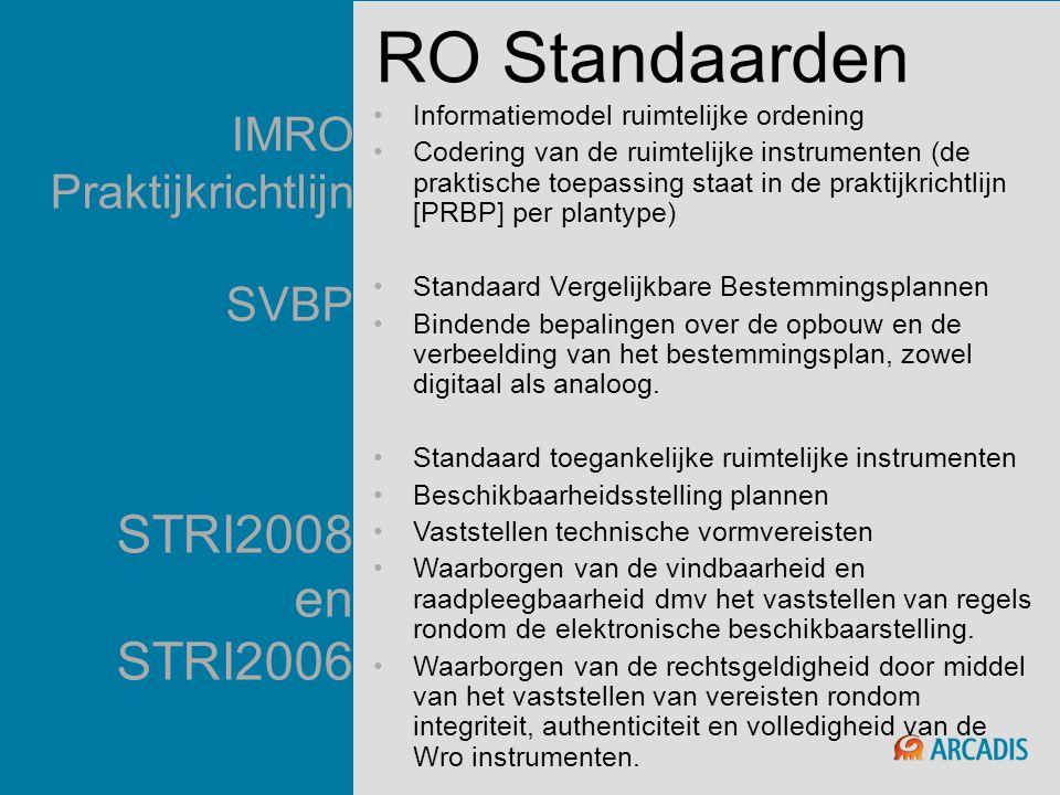 IMRO Praktijkrichtlijn SVBP STRI2008 en STRI2006