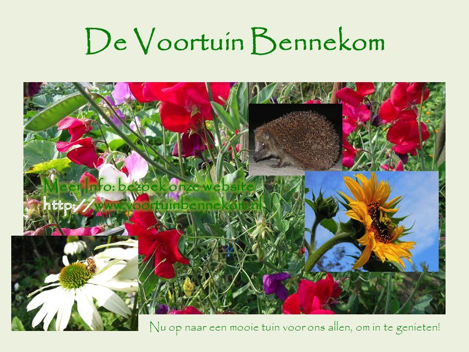 De Voortuin Bennekom Meer Info: bezoek onze website