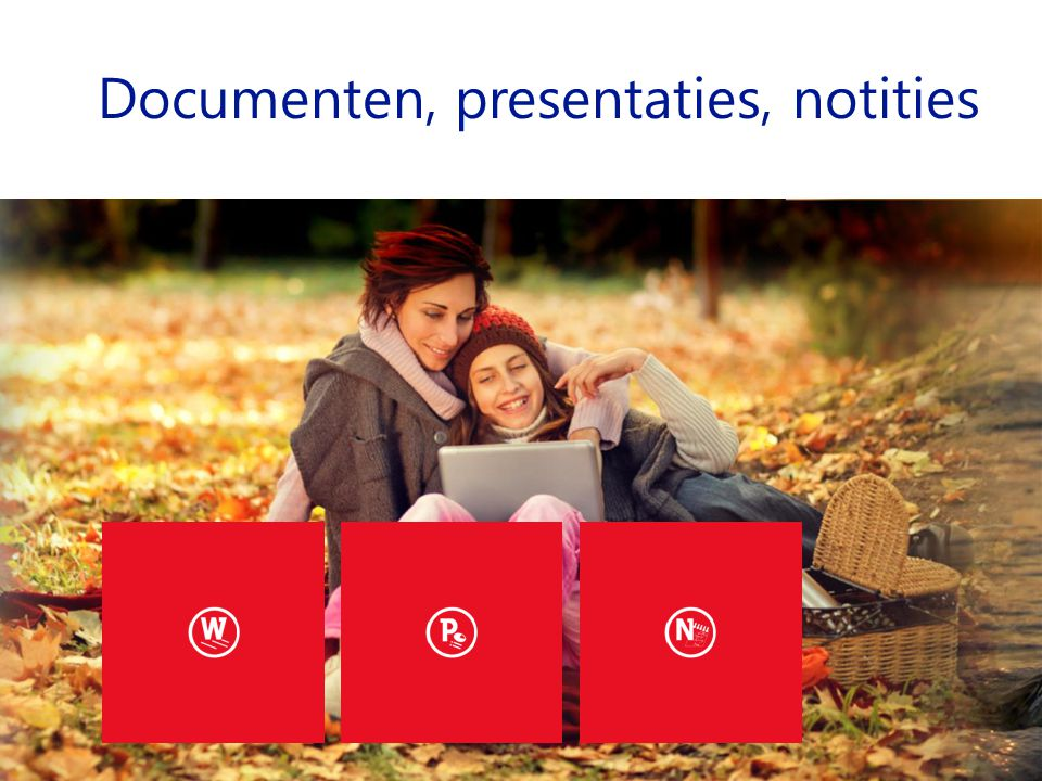 Documenten, presentaties, notities