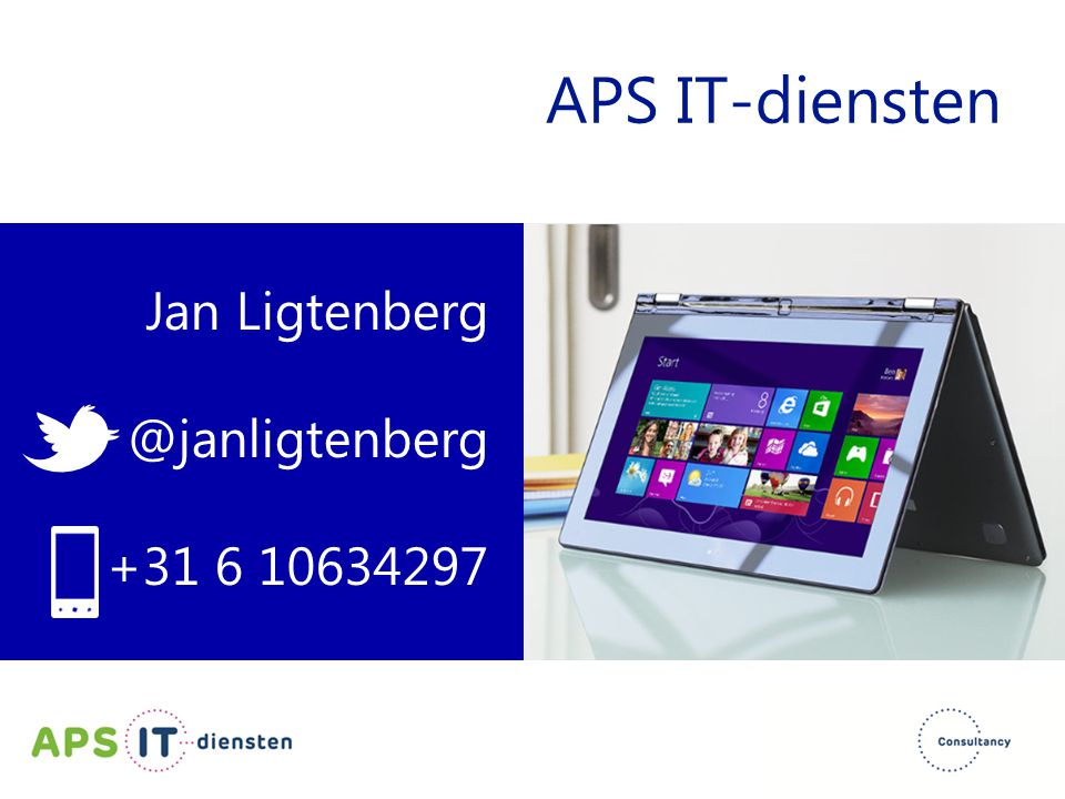 APS IT-diensten Jan