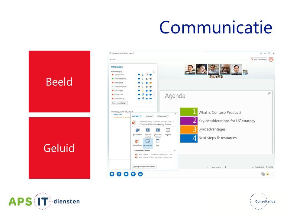 Communicatie Beeld Geluid