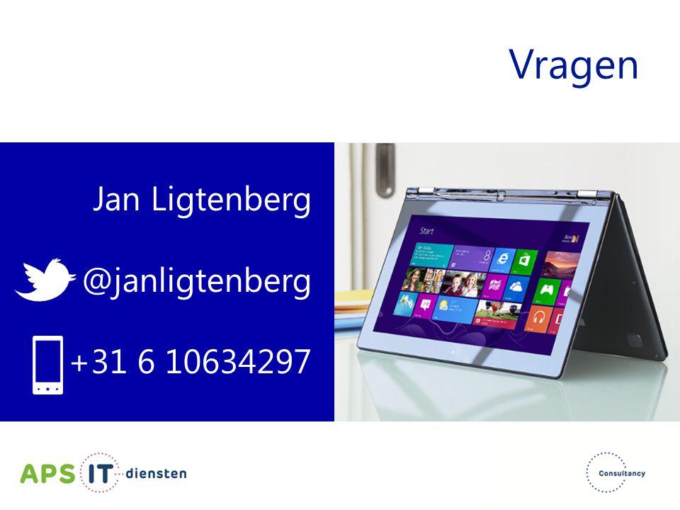 Vragen Jan Ligtenberg @janligtenberg +31 6 10634297