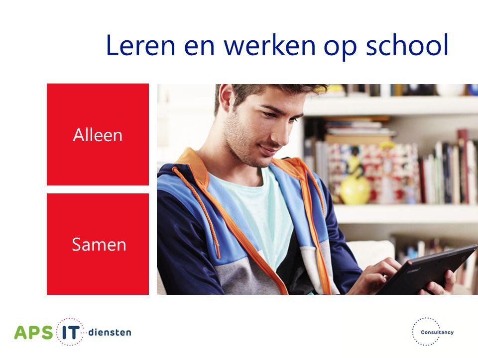 Leren en werken op school