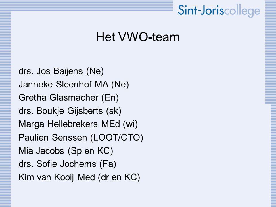 Het VWO-team