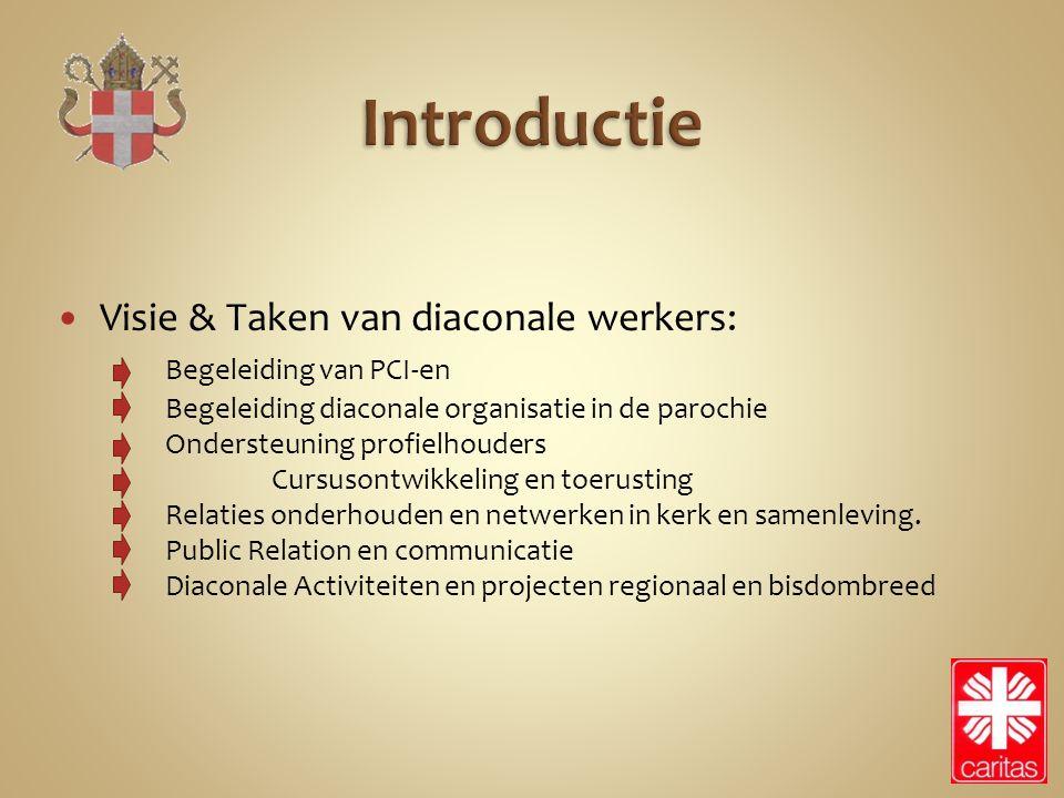 Introductie Visie & Taken van diaconale werkers: