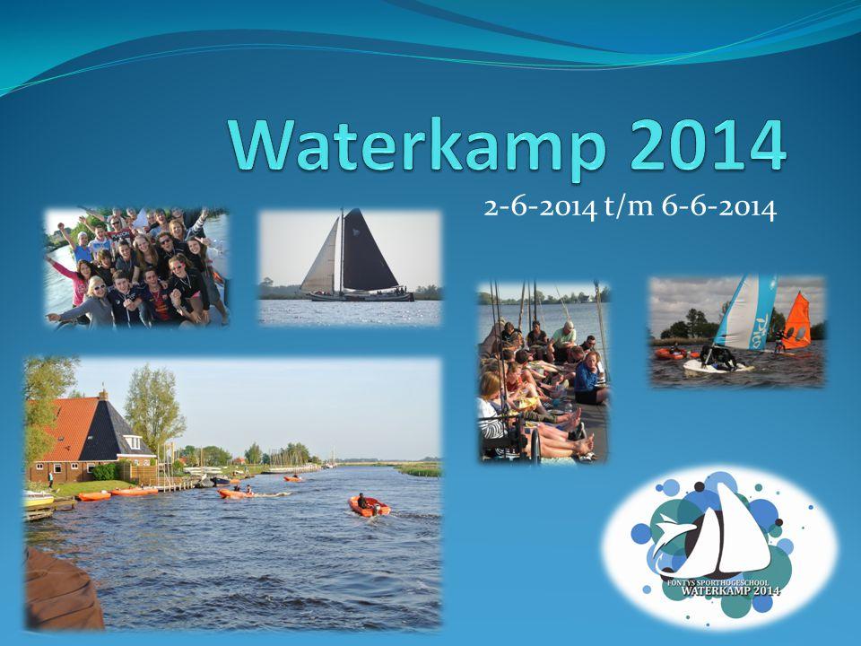 Waterkamp 2014 2-6-2014 t/m 6-6-2014