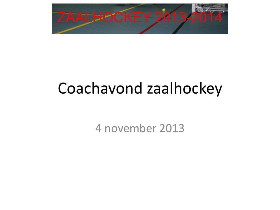 Coachavond zaalhockey