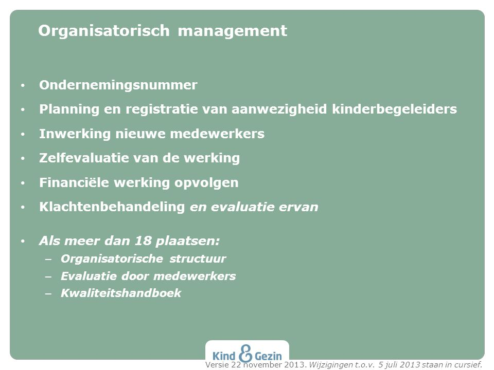 Organisatorisch management
