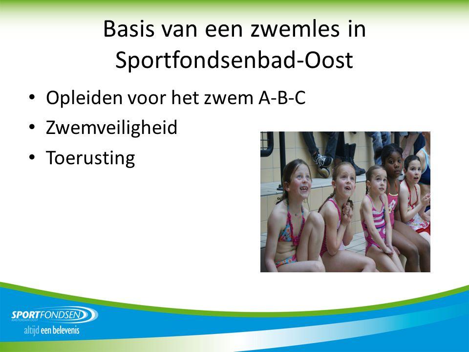 Basis van een zwemles in Sportfondsenbad-Oost
