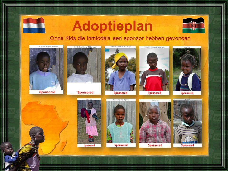 Adoptieplan Onze Kids die inmiddels een sponsor hebben gevonden