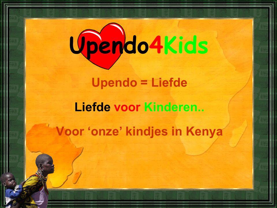 Voor 'onze' kindjes in Kenya