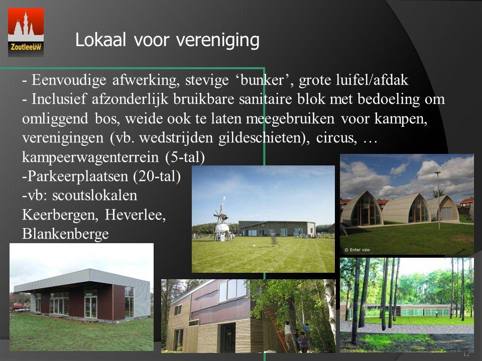 Lokaal voor vereniging