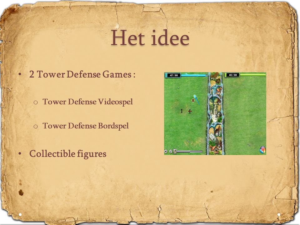 Het idee 2 Tower Defense Games : Collectible figures