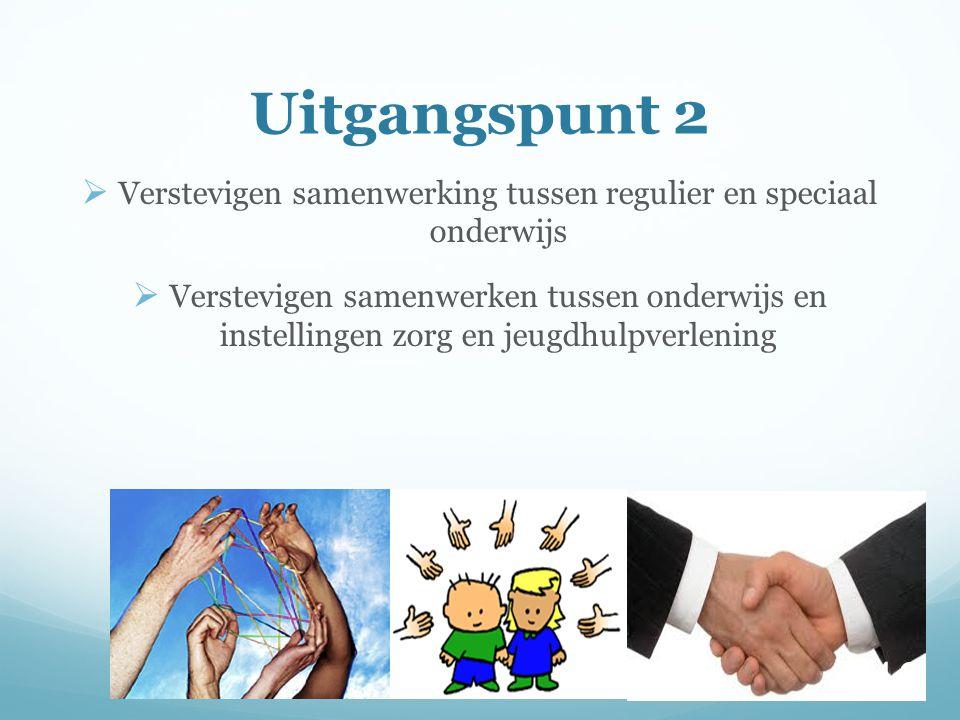 Verstevigen samenwerking tussen regulier en speciaal onderwijs