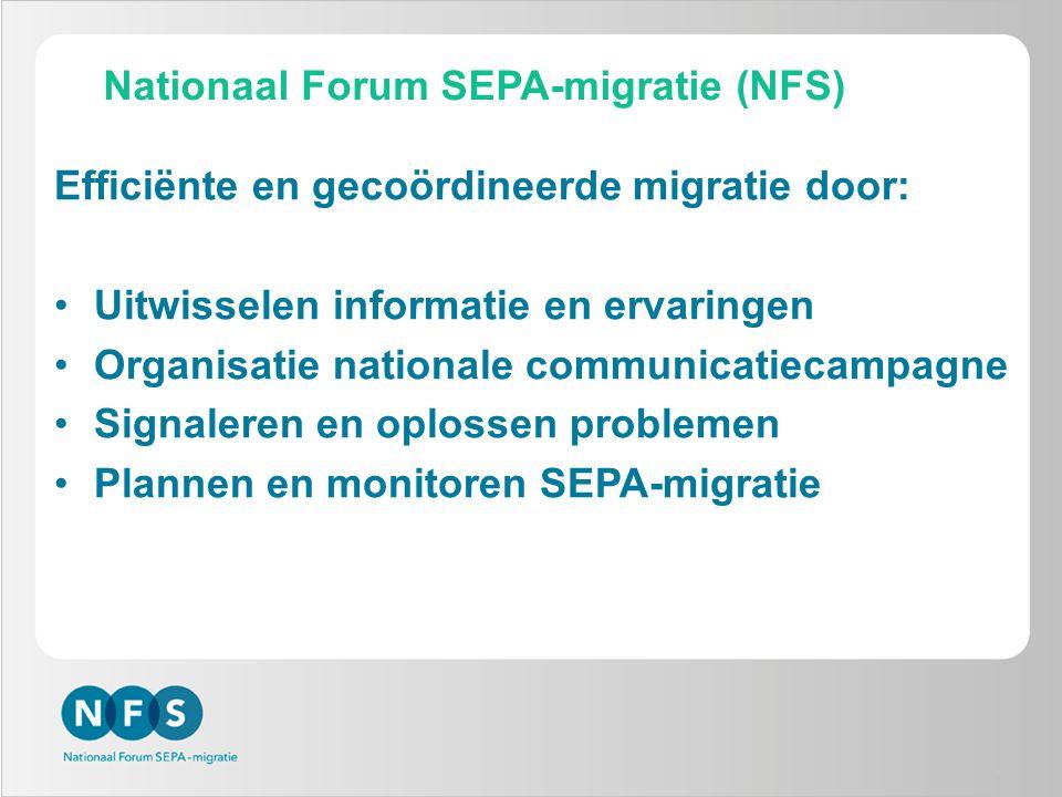 Nationaal Forum SEPA-migratie (NFS)