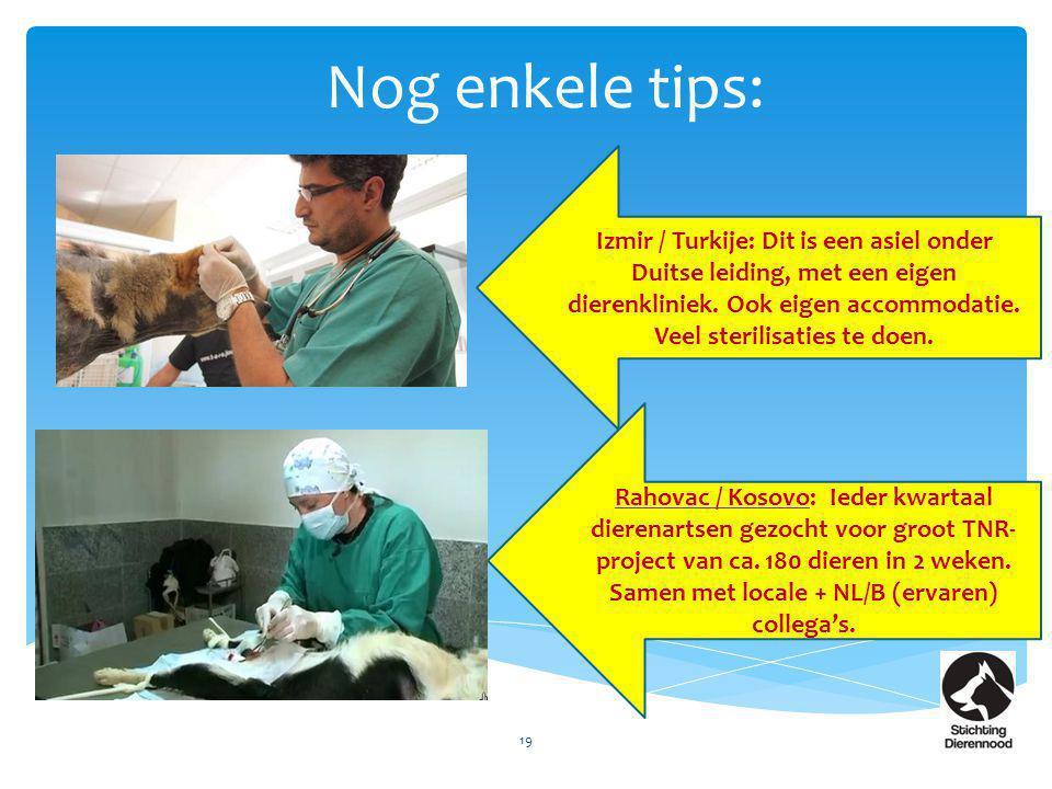 Nog enkele tips: