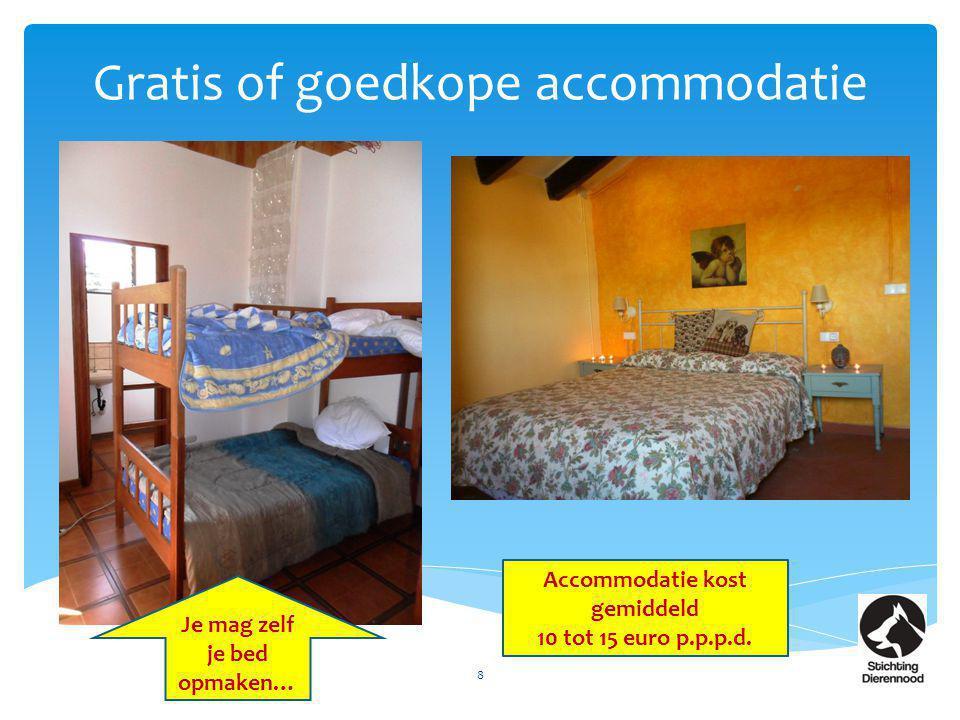 Gratis of goedkope accommodatie