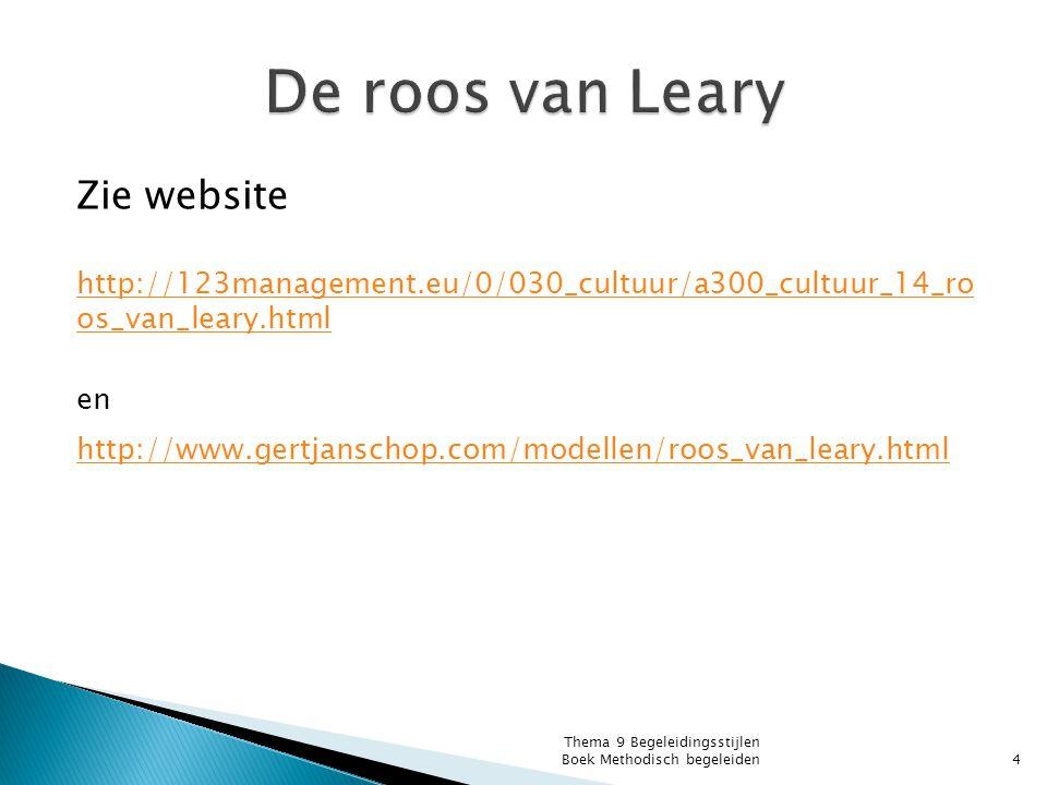 De roos van Leary Zie website