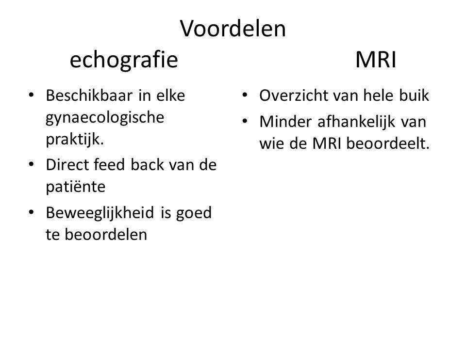 Voordelen echografie MRI