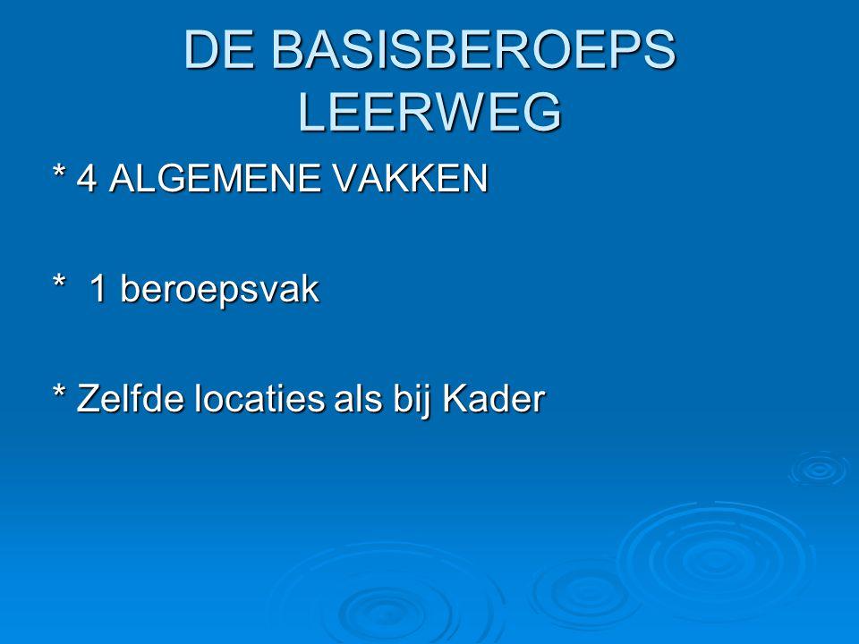 DE BASISBEROEPS LEERWEG