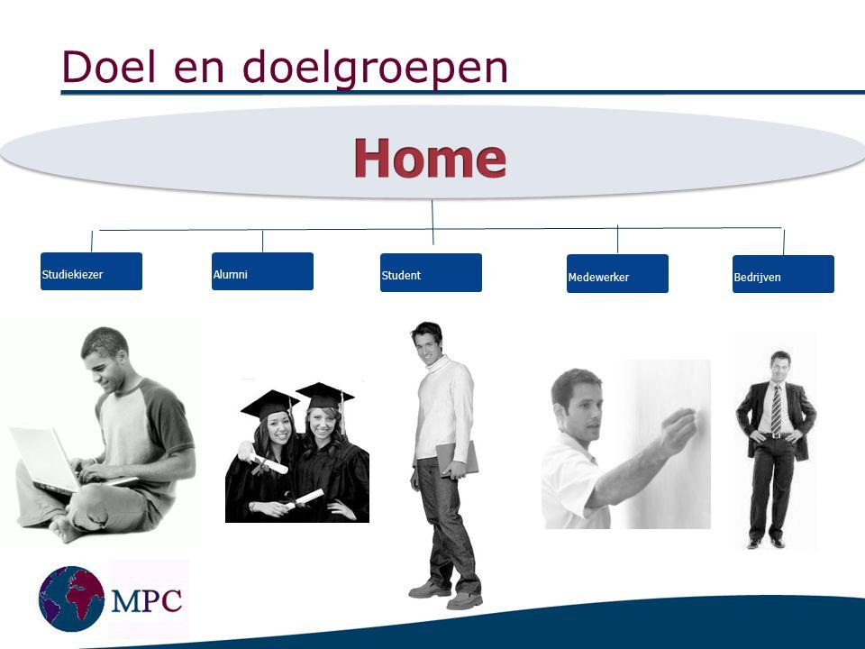 Studiekiezer Profiel: - studenten met BA/MA diploma