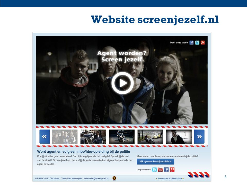 Website screenjezelf.nl