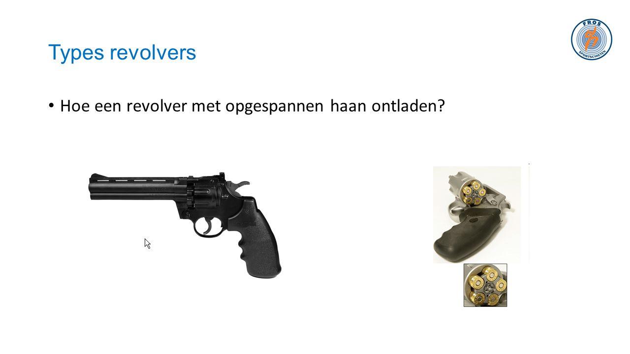 Types revolvers Hoe een revolver met opgespannen haan ontladen