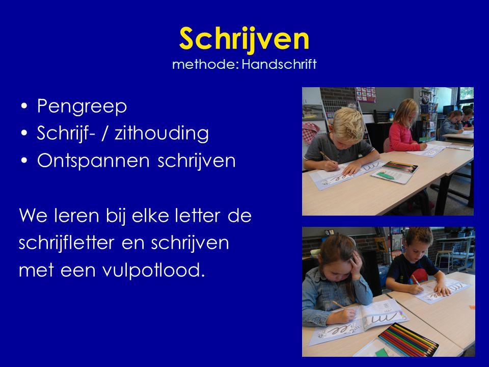 Schrijven methode: Handschrift