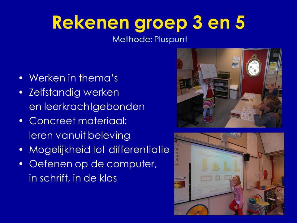 Rekenen groep 3 en 5 Methode: Pluspunt