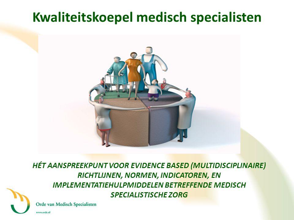 Kwaliteitskoepel medisch specialisten