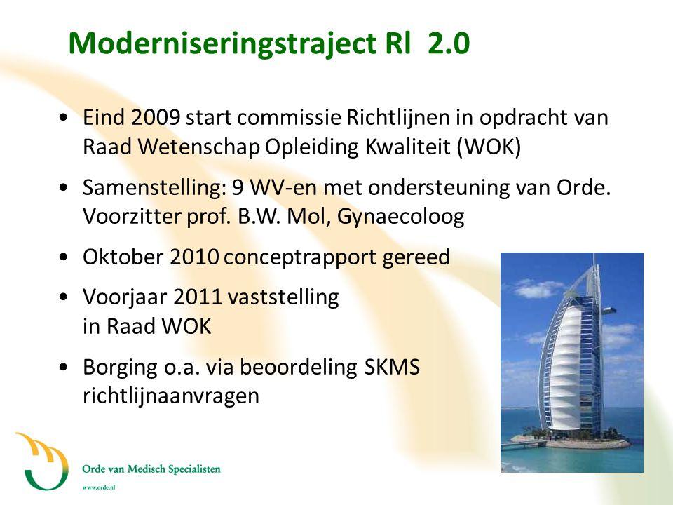 Moderniseringstraject Rl 2.0