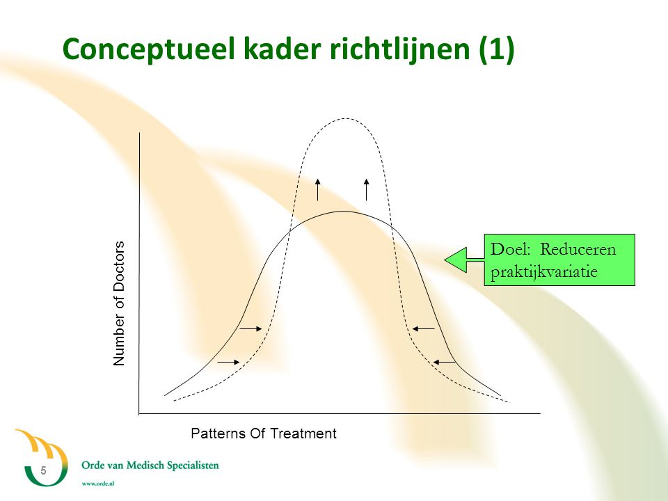 Conceptueel kader richtlijnen (1)