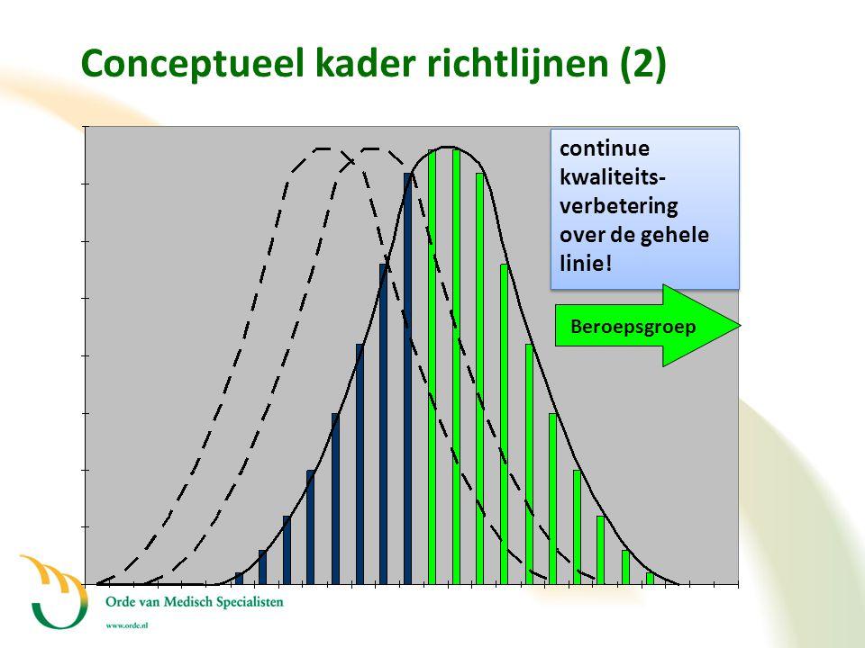 Conceptueel kader richtlijnen (2)