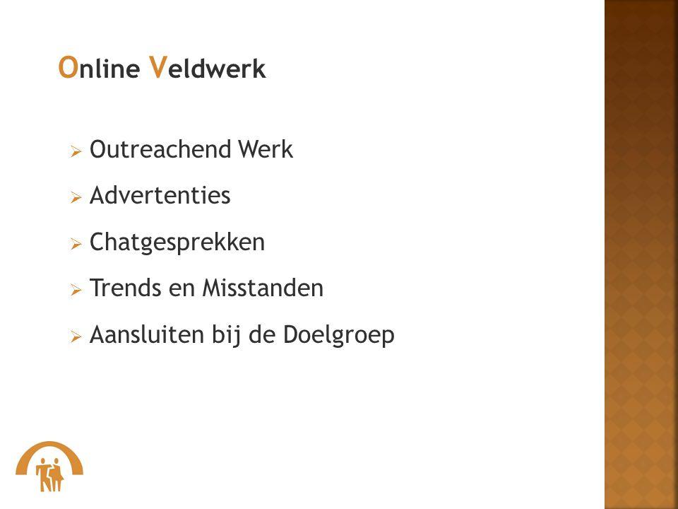 Online Veldwerk Outreachend Werk Advertenties Chatgesprekken