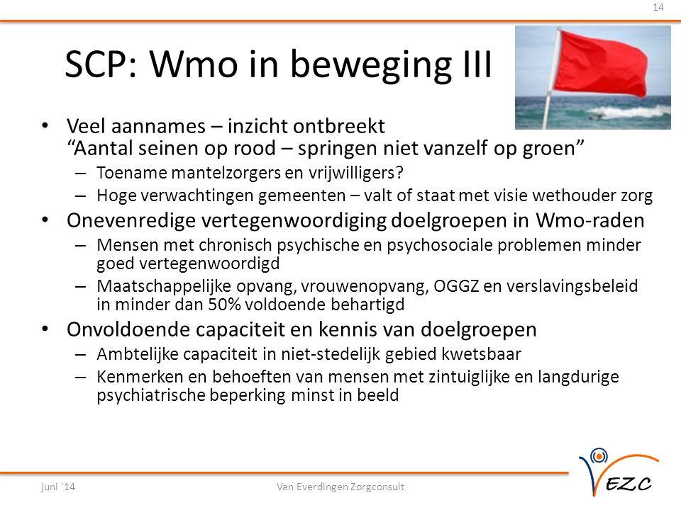 SCP: Wmo in beweging III