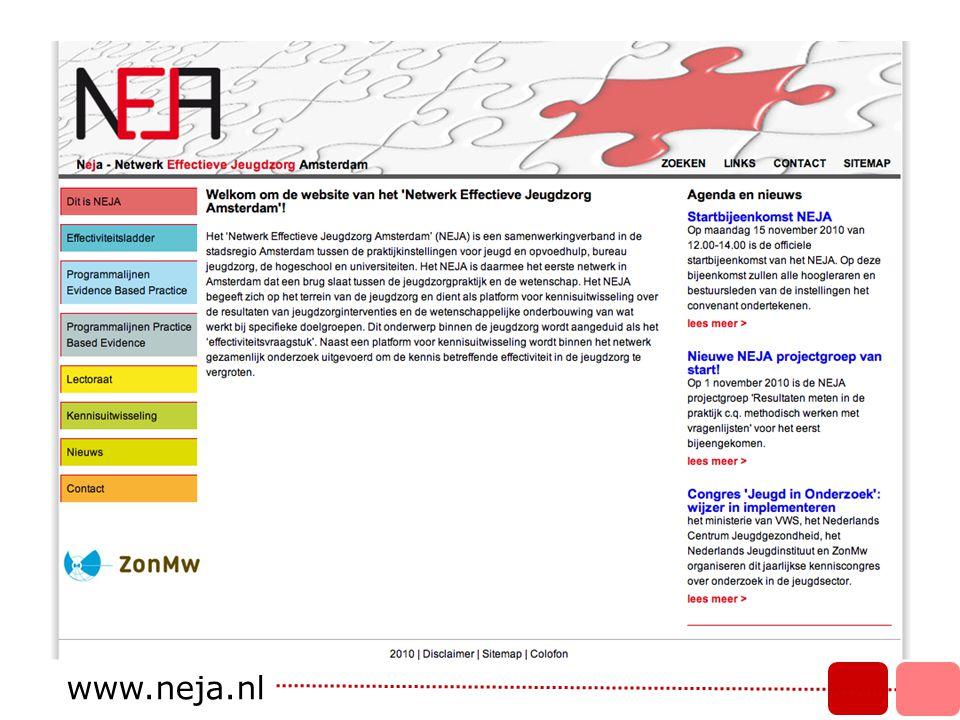 Werkstructuur ondertekend convenant Stuurgroep www.neja.nl