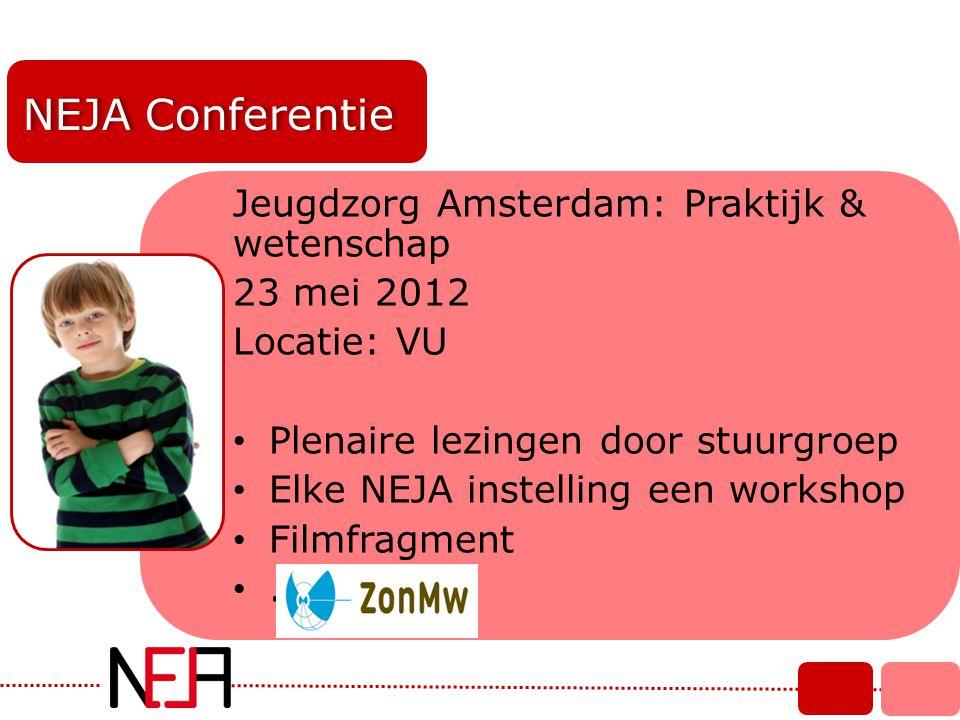 NEJA Conferentie Jeugdzorg Amsterdam: Praktijk & wetenschap