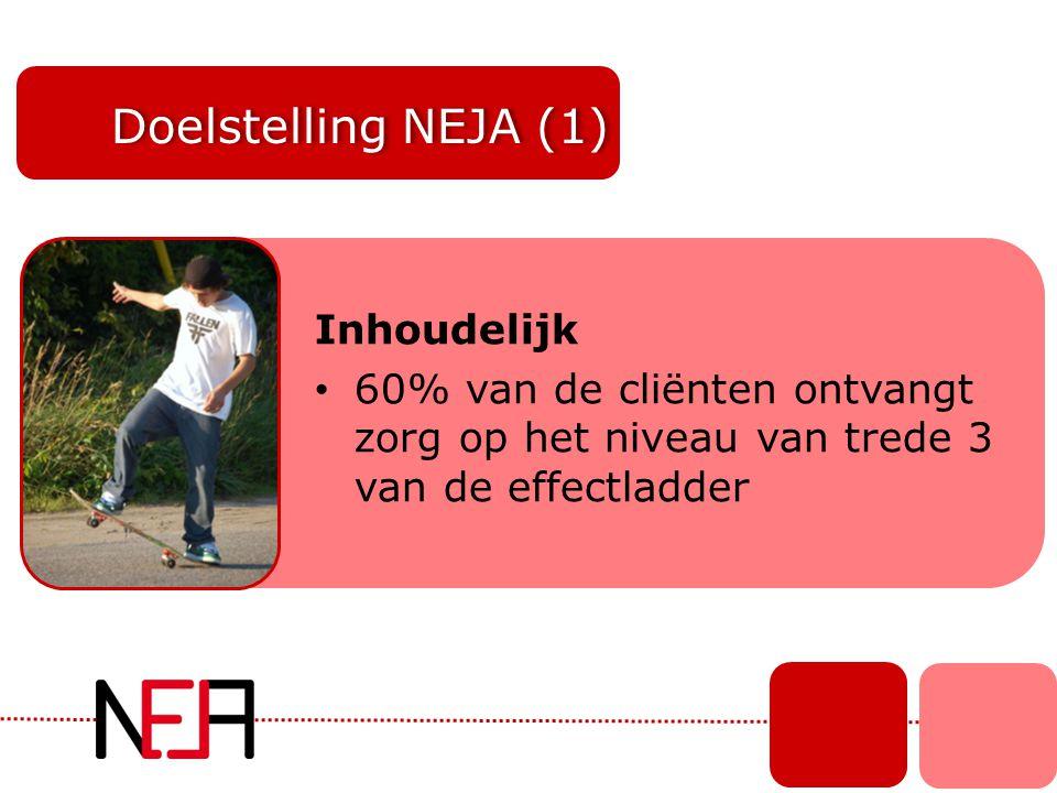 Doelstelling NEJA (1) Inhoudelijk