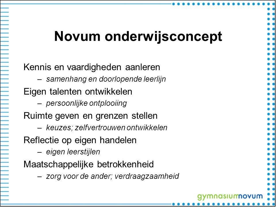Novum onderwijsconcept