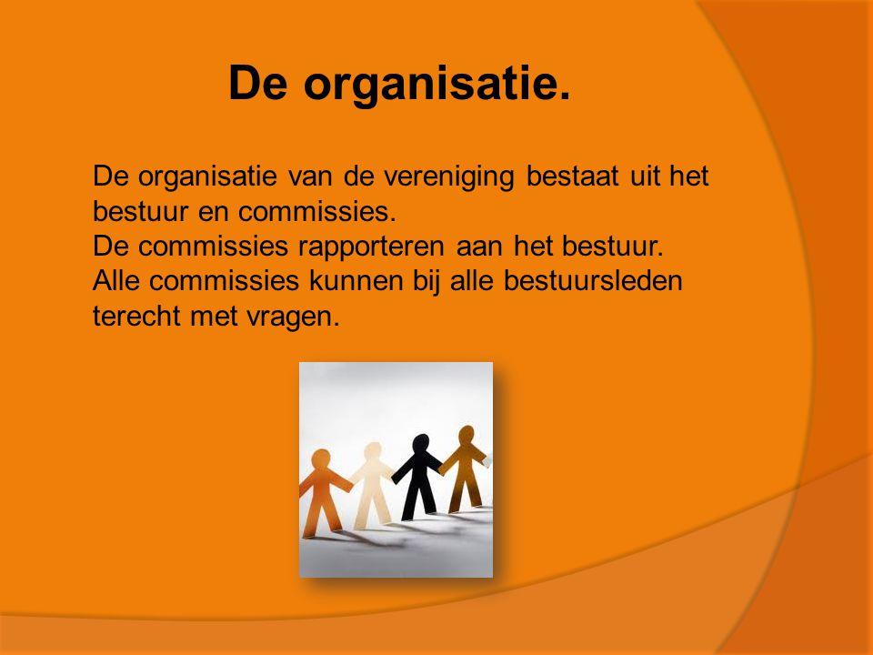 De organisatie.