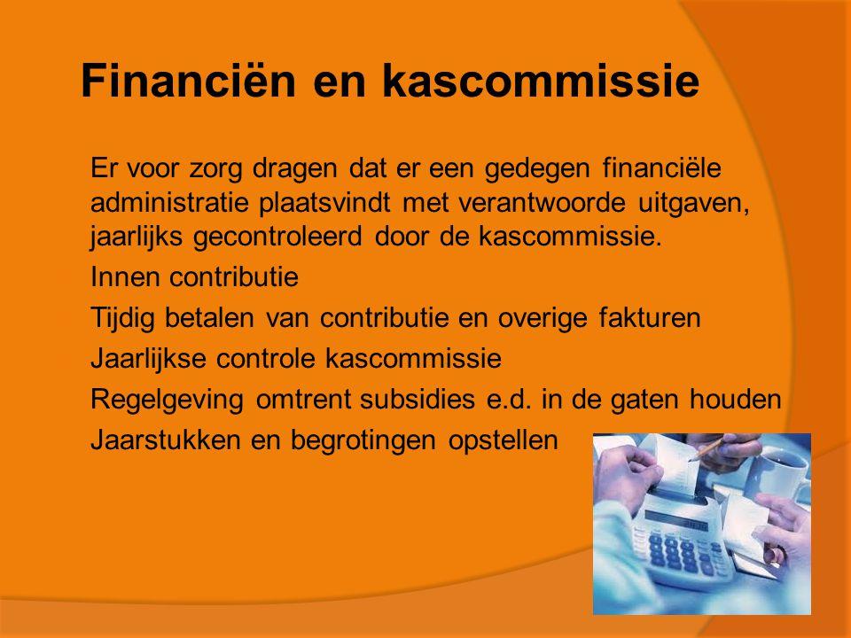 Financiën en kascommissie